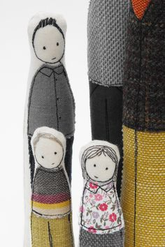 Gorgeous family dolls