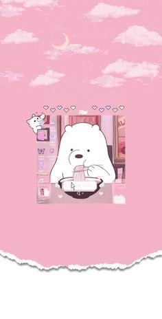 Cute Galaxy Wallpaper, Cute Panda Wallpaper, Cute Tumblr Wallpaper, Soft Wallpaper, Cute Wallpaper For Phone, Bear Wallpaper, Wallpaper Iphone Disney, Cute Wallpaper Backgrounds, Aesthetic Pastel Wallpaper