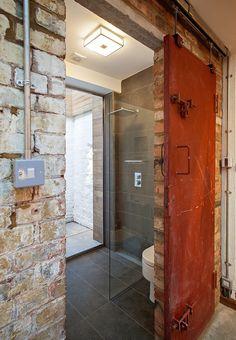 industrial bathroom | chris dyson