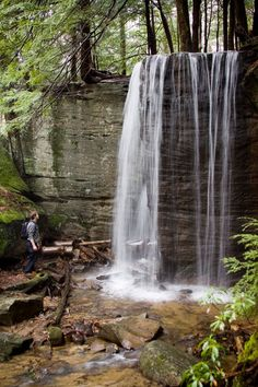 Allegheny Outfitters Blog: Hector Falls - Allegheny National Forest