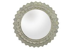 Olivia Wall Mirror, Silver  Help it's so perfect