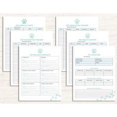 Dog Heat Cycle, Dog In Heat, Emergency Binder Free Printables, Puppy Shot Schedule, Health Planner, Pet Health, Grooming Salon, Dog Grooming