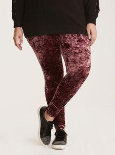 3c1bc79c801 Crushed Velvet Leggings. Crushed Velvet LeggingsPlus Size ...