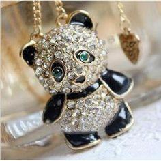 Crystal Panda Necklace  $6