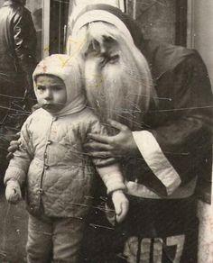 vintage christmas, vintage santas, vintage holiday, creepi santa, creepi christma