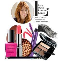 Avon Global Celebrity Makeup Artist Lauren Andersen LOVES Avon #Makeup! Get all of Lauren's July faves in one set!