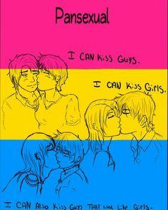 #pansexual pride #my life #genderblind