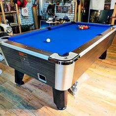 We can bring old or dated billiard tables 𝐁𝐀𝐂𝐊 𝐓𝐎 𝐋𝐈𝐅𝐄 and able to notice the difference! All snooker table 𝐫𝐞𝐜𝐥𝐨𝐭𝐡𝐢𝐧𝐠 is carried out on site and the costs are dependant on the cloth type required, the amount of work or tables being recovered and the tables location.  ✅ Recloth 8ft Marvel Pro American Pool Table  @ Batu Arang, Selangor Cheap Pool Tables, American Pool Table, Pool Deck Plans, Air Hockey, Sports Equipment, Game Room, Marvel, Type, Game Rooms