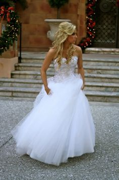The MOST perfect princess dress. I'm in love!