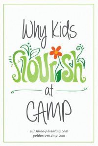 Why Kids Flourish at Camp:  We love this author's acronym, PERMA, to describe the benefits that kids gain from camp!