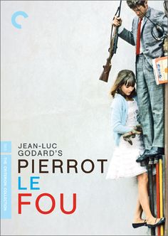 #Pierrot le Fou (1965) Jean-Luc Godard (Language: French) -- Pierrot escapes his boring society and travels from Paris to the Mediterranean Sea with Marianne, a girl chased by hit-men from Algeria. They lead an unorthodox life, always on the run.