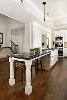 Lake Highlands High-end Kitchen Remodel - Blackline Renovations Moving To Dallas, New Grandparents, High End Kitchens, Bar Seating, Extra Storage, Remodels, Kitchen Designs, Granite, Closer