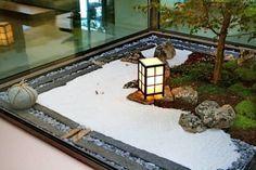 Jardines con piedras de estilo asiático