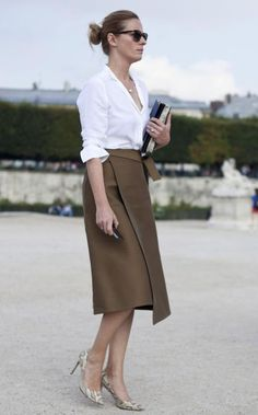 6 Tips to add a touch of class to the look - Fashion Trends Mode Pro, Look Street Style, Work Chic, Office Looks, Work Looks, Office Outfits, Work Outfits, Office Attire, Office Fashion