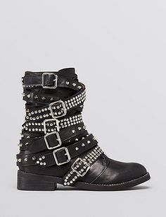 JEFFREY CAMPBELL Cruzados Studded Short Ankle Boots