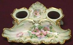 Limoges Inkwell