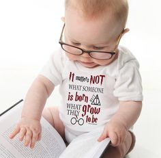 Hey, I found this really awesome Etsy listing at https://www.etsy.com/listing/212478408/harry-potter-inspired-baby-onesie-it