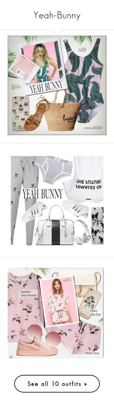 """Yeah-Bunny"" by monmondefou ❤ liked on Polyvore featuring YeahBunny, Hat Attack, Yeah Bunny, Stuart Weitzman, Topshop, MICHAEL Michael Kors, adidas, Linda Farrow, Chloé and Giuseppe Zanotti"