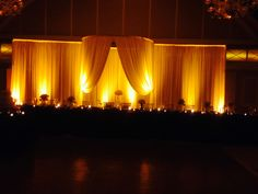 Nicpon Productions is a Chicago Wedding DJ, event lighting and décor company that specializes in elegant, contemporary wedding and social events. Head Table Backdrop, Fabric Backdrop, Fabric Decor, Dj Packages, Backdrops, Curtains, Wall, Home Decor, Blinds