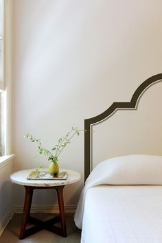 Painted Headboard On Wall how to paint a headboard on the wall | moldings, walls and bedrooms