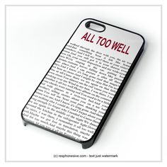 All Too Well Lyric Cover iPhone 4 4S 5 5S 5C 6 6 Plus , iPod 4 5 , Samsung Galaxy S3 S4 S5 Note 3 Note 4 , HTC One X M7 M8 Case