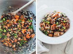 Wild Rice Salad with Miso Dressing