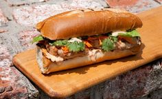 Banh Mi Chicken Burger - The Most Delicious Sandwich Recipes of All Time - Pictures - Chowhound