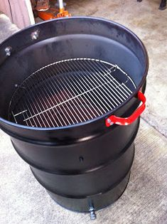 The Cheezer's random thoughts: Ugly Drum Smoker 55 Gallon Drum Smoker, 55 Gallon Steel Drum, Ugly Drum Smoker, 55 Gallon Plastic Drum, Plastic Drums, Bbq Grill, Barbecue, Grilling, Build A Smoker