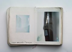 Per Zennstrom - PolaroidBook : Polaroids in a scrap book compiled over 10 years of fashion photography / http://perzennstrom.photoshelter.com / http://www.flickr.com/photos/perzennstrom #polaroid #fashion #scrapbook