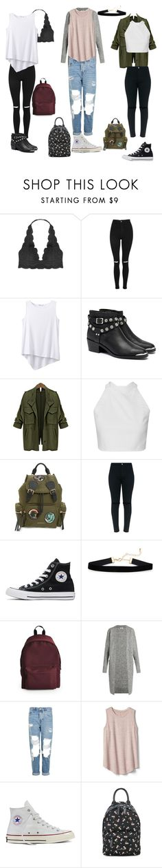 """T@gged season 2: episode 2"" by alex2116 ❤ liked on Polyvore featuring Humble Chic, Topshop, prAna, Senso, Burberry, Converse, Acne Studios, Gap and Givenchy"
