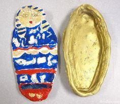 Egyptian Clay Sarcophagus Art Project