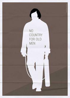 54 Brilliant Minimal Movie Posters.