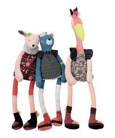 Olive, Rosie et Violette, les filles des Broc'& Rolls - Moulin Roty