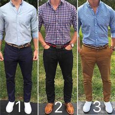 3 looks from @chrismehan which do you prefer?