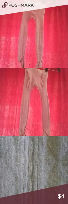 Youth pink tights These tights are in great condition they are light pink color size 4-6x Accessories Socks & Tights