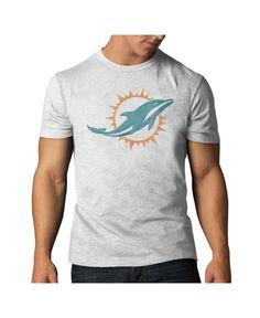 Women's Miami Dolphins Nike Aqua Crested Scoopneck Tri-Blend T-Shirt
