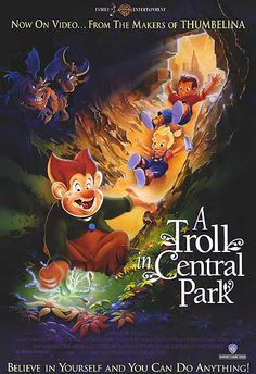 A Troll in Central Park.. I've been looking for the name of this movie, since I was like 7!!