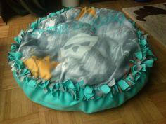 * Schlafbettchen / Knotenkissen  Skull  & Katzenminze & Zergel für Katzen *