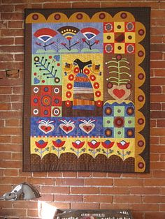 Sue Spargo quilt ~ what's not to love about Sue's work!