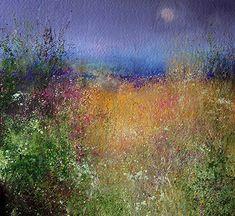 Amanda Hoskin | Field of Flowers, Fowey