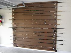 Diy fishing rod holder instructions rod holders fishing for Homemade fishing rod storage ideas