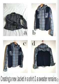by sophie b. l'éco-design à la française: Winter 13 - A new jacket...