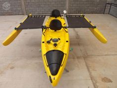 Kit com estabilizadores para caiaques Orca