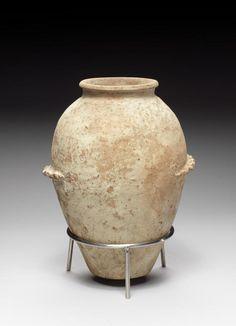 An Egyptian Predynastic terracotta jar. Naqada II, circa 3300 B.C.