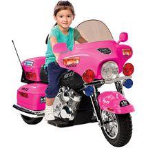 Walmart: Kid Motorz Motorcycle 12-Volt Battery-Powered Ride-on, Pink