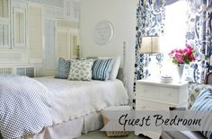 LOVE EVERYTHING HERE! Southern Home Living Home Tour. Check out LOTS of home tours at ItsOverflowing.com!