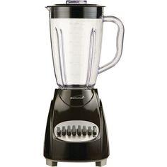 12-Speed Blender with Plastic Jar (Black) - BRENTWOOD - JB-220B