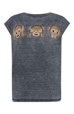 Emoji Monkey T-Shirt