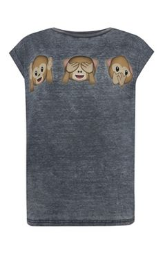 Emoji Monkey T-Shirt