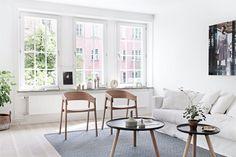 Monográfico: 2 salones en blanco y negro... ¡minimalistas y frescos!